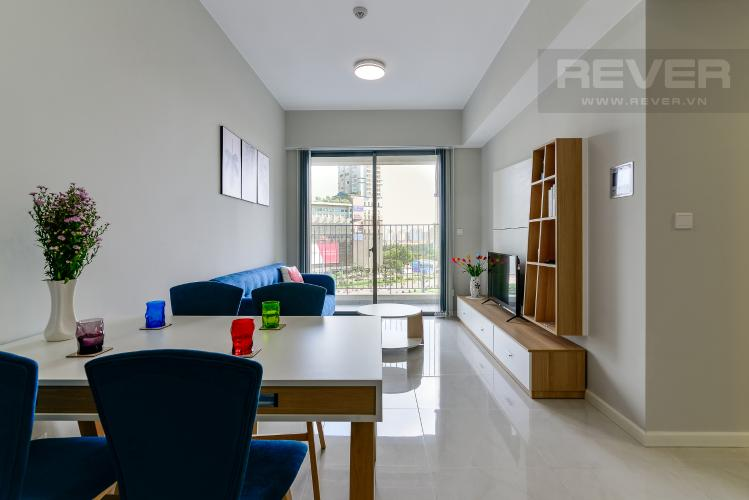 Phòng Khách Cho thuê căn hộ Masteri An Phú 2PN, tầng thấp, tháp B, view Xa lộ Hà Nội