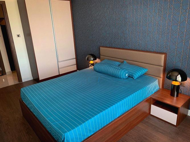 Phòng ngủ căn hộ Saigon Royal Căn hộ Saigon Royal tầng cao thiết kế sang trọng view hướng ra sông.
