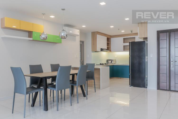 Không Gian Bếp Cho thuê căn hộ Scenic Valley 3PN, tầng thấp, block C, đầy đủ nội thất, view sông thoáng đãng