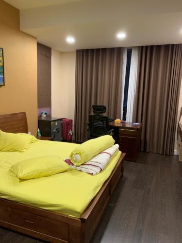 Phỏng ngủ căn hộ The Tresor Căn hộ The Tresor 3 phòng ngủ tầng cao diện tích 110.5m2, nội thất cơ bản.