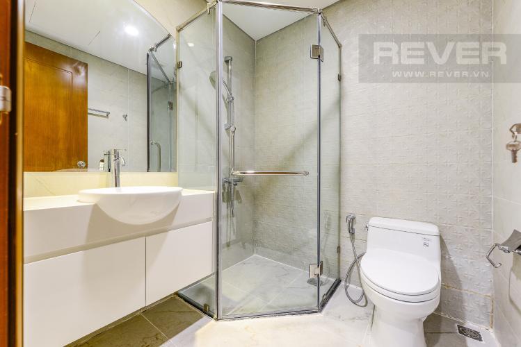 Phòng tắm 2 Căn hộ Vinhomes Central Park 3 phòng ngủ tầng cao L4 view sông
