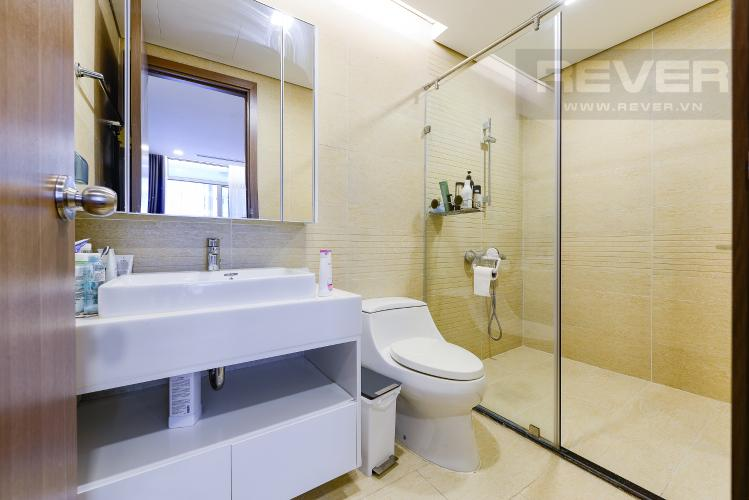 Phòng tắm 2 Bán căn hộ Vinhomes Central Park tầng trung 3PN đầy đủ nội thất view sông