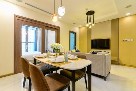 Căn hộ Vinhomes Central Park tầng cao, tháp Landmark 81, 1PN nội thất đầy đủ