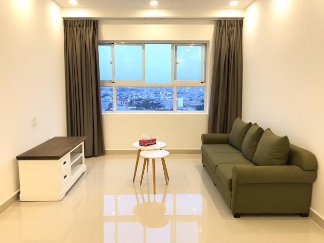 Căn hộ 9 View Apartment tầng trung, nội thất đầy đủ.