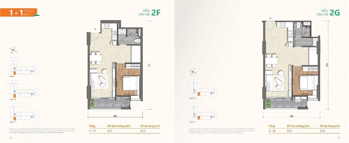 Layout căn hộ Ricca , Quận 9 Căn hộ Ricca tầng 7 ban công thoáng mát, nội thất cơ bản hiện đại.