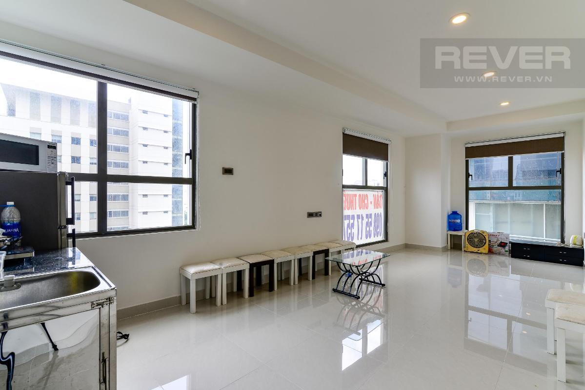 983498c9902f77712e3e Bán officetel Saigon Royal 1PN, tháp B, diện tích 49m2, nội thất cơ bản, view Bitexco