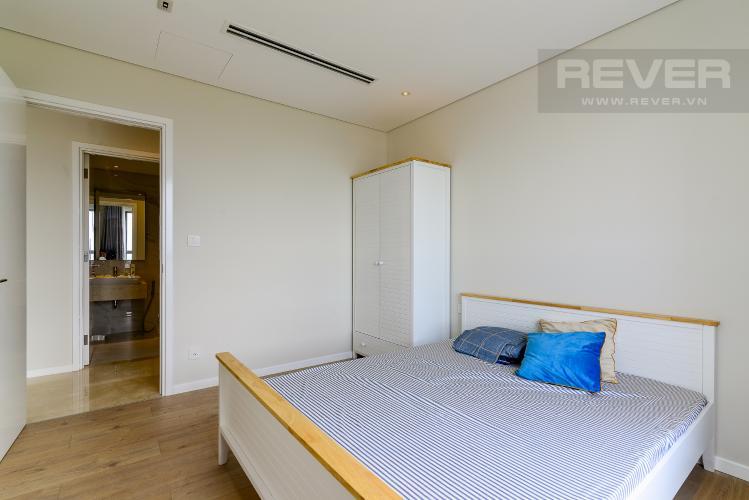Phòng Ngủ 2 Cho thuê căn hộ Diamond Island - Đảo Kim Cương 2PN, đầy đủ nội thất, view sông Sài Gòn thoáng mát