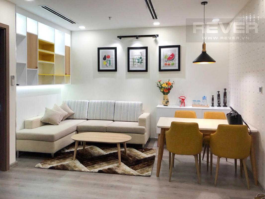 f7a6656040efa6b1fffe Bán căn hộ 1 phòng ngủ Vinhomes Central Park, tháp Park 1, đầy đủ nội thất