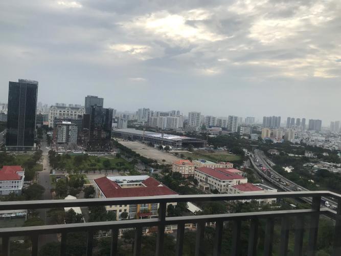View căn hộ Riviera Point Căn hộ Duplex Riviera Point tầng 20 bàn giao nội thất cơ bản, view thành phố.