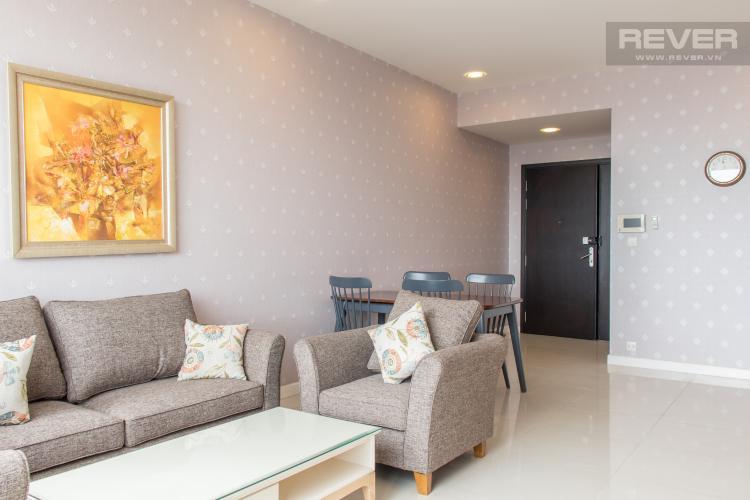 Phòng Khách Bán căn hộ Sunrise City 2PN, tháp V2 khu South, đầy đủ nội thất, view sông thoáng đãng