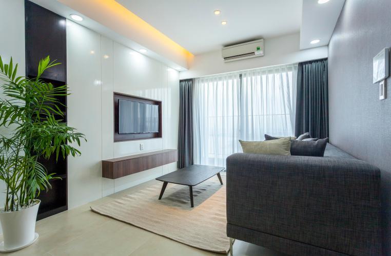 Phòng Khách Căn hộ Masteri Thảo Điền 3 phòng ngủ tầng cao T4 view sông