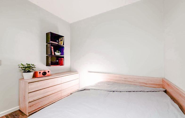 Phòng Ngủ 2 Bán căn hộ The Ascent tầng trung, 2PN, nội thất đầy đủ