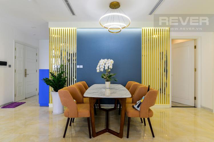 Phòng Ăn Bán căn hộ Vinhomes Golden River 3PN, tầng cao, đầy đủ nội thất, view Thủ Thiêm và sông Sài Gòn