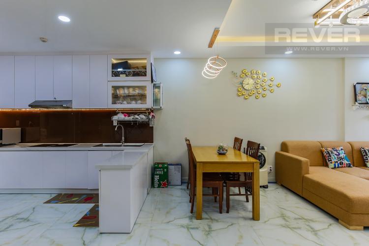 Bàn Ăn Căn hộ The Gold View tầng trung tháp A1, 2 phòng ngủ, full nội thất