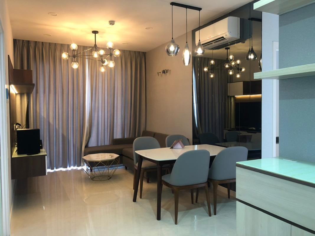 3de9582f0772e12cb863 Bán căn hộ Masteri Millennium 2PN, block B, đầy đủ nội thất, view Bitexco