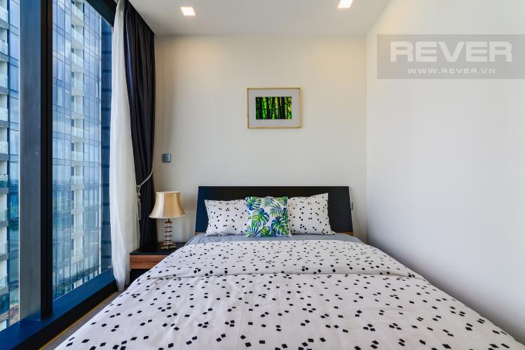 Phòng Ngủ 1 Căn hộ Vinhomes Golden River 2PN đầy đủ nội thất view đẹp