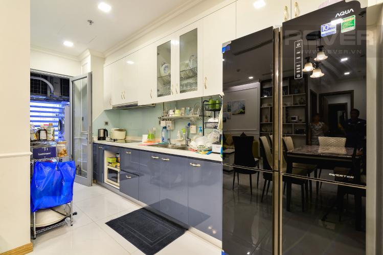 Nhà Bếp Căn hộ Vinhomes Central Park tầng cao, tháp Park3, 2PN đầy đủ nội thất