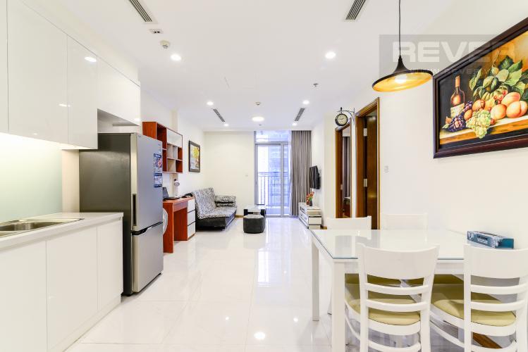 Tổng Quan Căn hộ Vinhomes Central Park 1 phòng ngủ tầng cao L3 nội thất đầy đủ