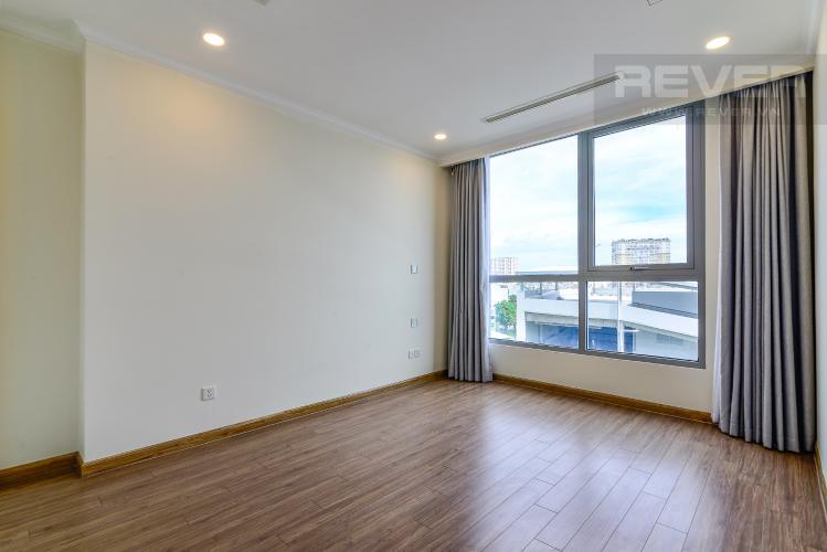 Phòng Ngủ 1 Bán căn hộ Vinhomes Central Park 3PN, tầng thấp, đầy đủ nội thất, view hồ bơi