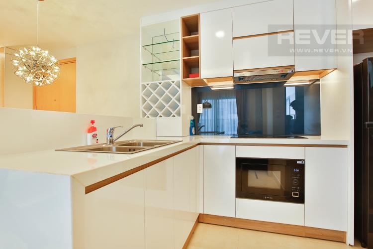 Bếp Căn hộ Masteri Thảo Điền 2 phòng ngủ tầng cao T2 hướng Đông Nam