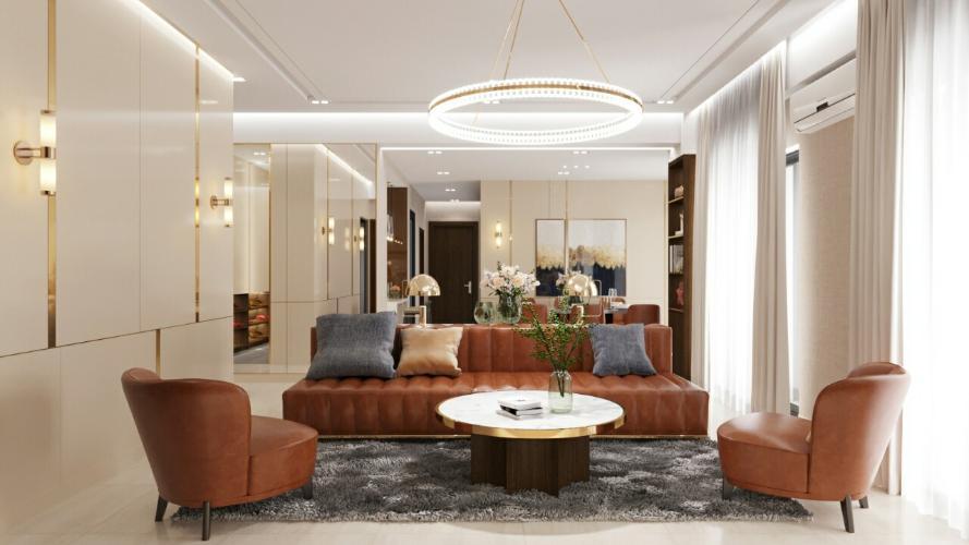 Cho thuê căn penthouse Centana Thủ Thiêm 3PN 3WC, diện tích 181m2, đầy đủ nội thất cao cấp
