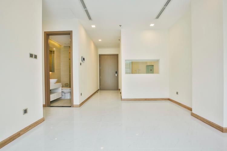Không gian căn hộ Căn hộ Vinhomes Central Park tầng cao tháp Park 5 thoáng mát