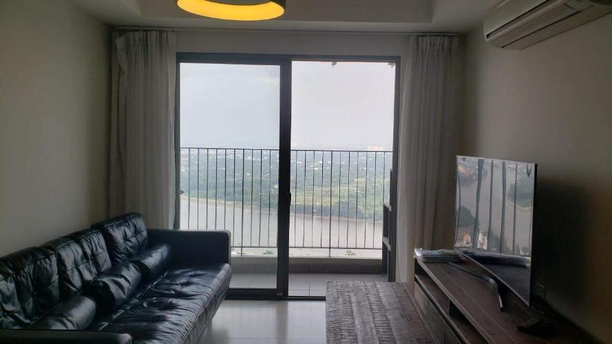 Phòng khách căn hộ Masteri Thảo Điền quận 2 Căn hộ Masteri Thảo Điền 3 phòng ngủ view sông, nội thất đầy đủ.