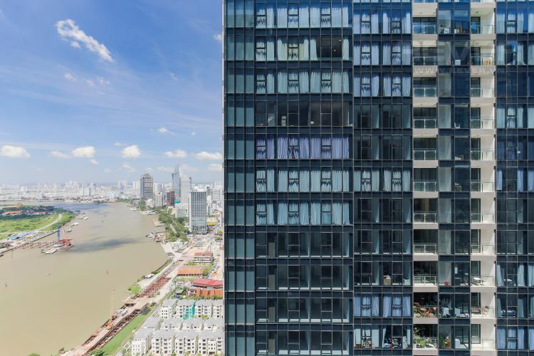 View Bán hoặc cho thuê căn hộ Vinhomes Golden River 2PN, tầng cao, tháp The Aqua 1, view sông Sài Gòn