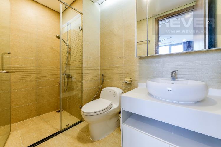 Phòng tắm 1 Căn hộ Vinhomes Central Park 2 phòng ngủ tầng cao P7 đầy đủ tiện nghi