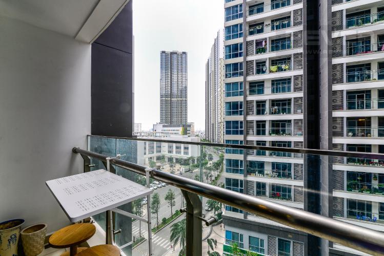 View Officetel 1 phòng ngủ căn hộ Vinhomes Central Park, tầng thấp, full nội thất