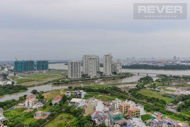 View Cho thuê căn hộ The Sun Avenue 2PN, tầng cao, block 3, view sông thoáng mát