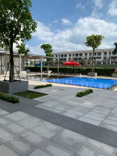 Cảnh quan căn hộ chung chơ Citisoho Bán căn hộ  2PN, 2WC chung cư Citisoho , View Hồ Bơi, tằng 10 thoáng mát..
