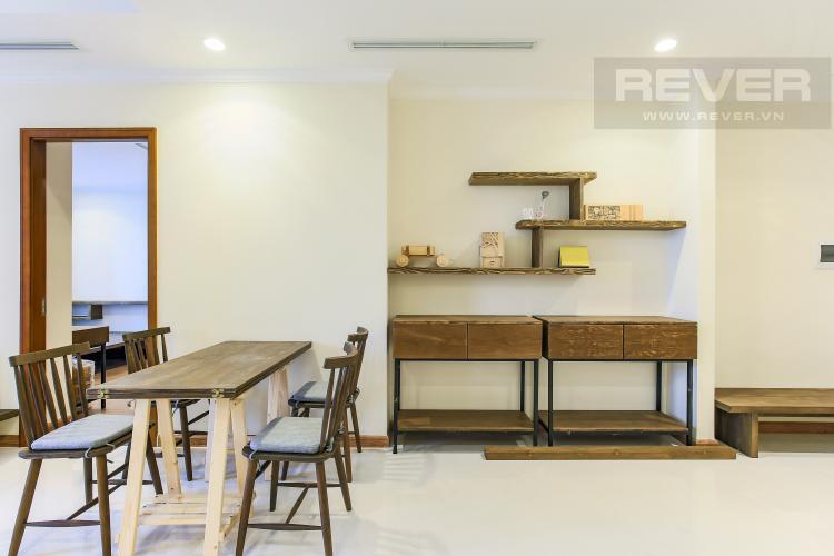 Bàn Ăn Căn hộ Vinhomes Central Park 3 phòng ngủ, tầng trung L3, nội thất đầy đủ