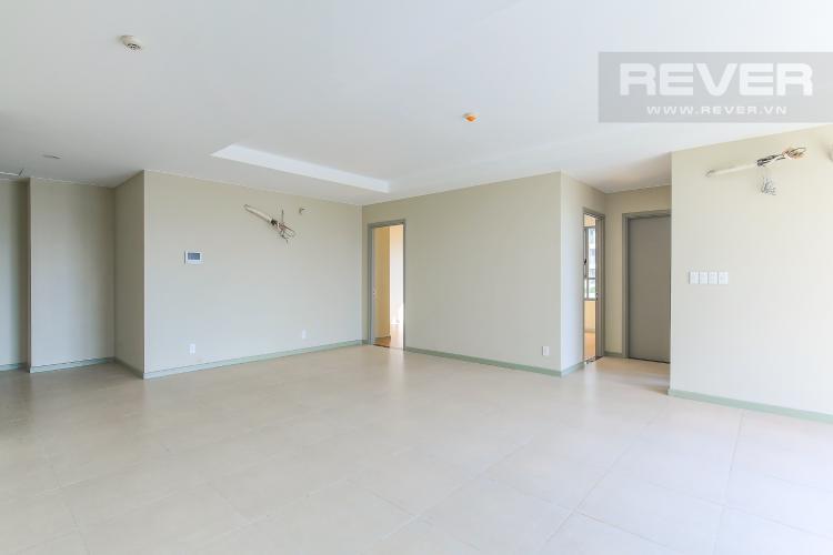 Phòng Khách Bán căn hộ The Gold View tầng thấp, 3PN, view sông và hồ bơi