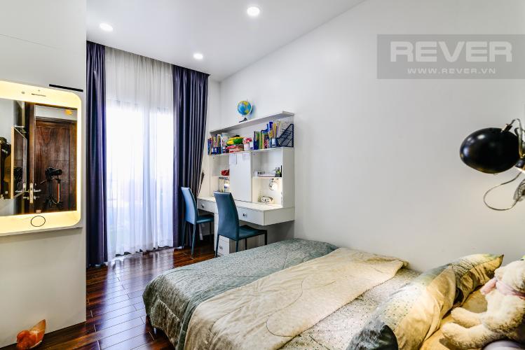 Phòng Ngủ 2 Căn hộ Garden Gate 3 phòng ngủ tầng cao nội thất đầy đủ