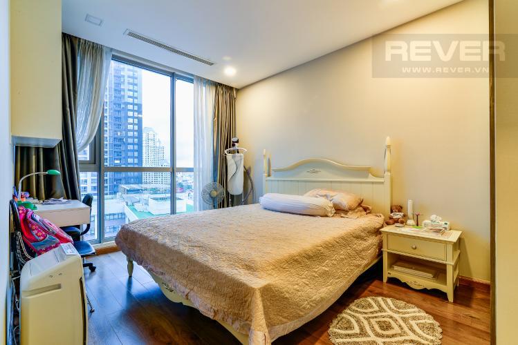 Phòng Ngủ 1 Căn hộ Vinhomes Central Park tháp Park 6, 2PN, đầy đủ nội thất