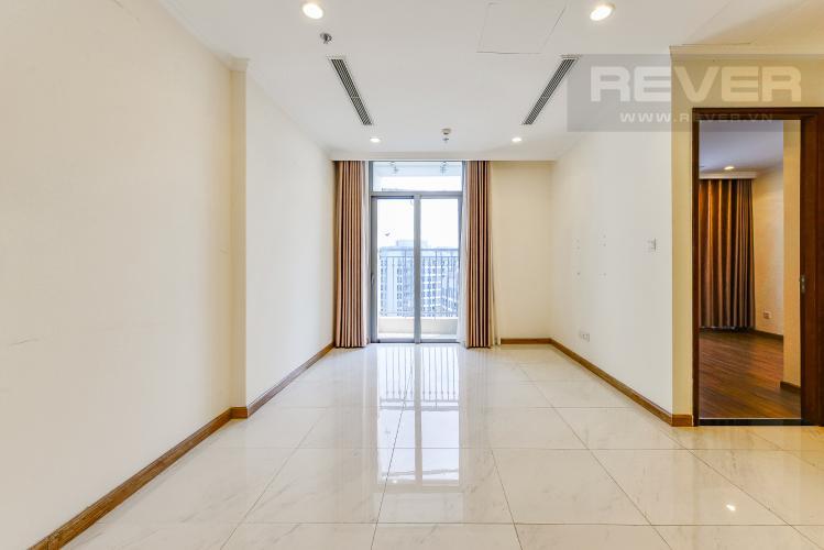 Phòng Khách Officetel Vinhomes Central Park 1 phòng ngủ tầng cao C2 hướng Đông Bắc
