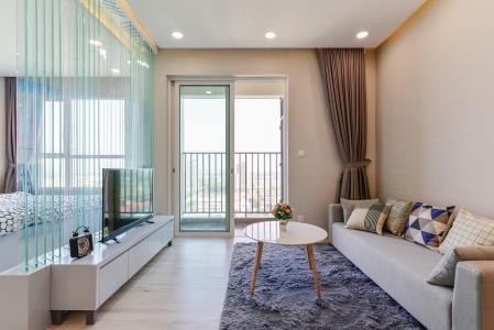 Căn hộ Vista Verde 1 phòng ngủ tầng cao T1 đầy đủ nội thất