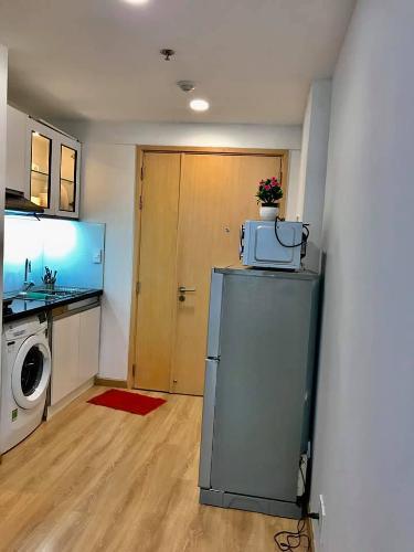 Phòng bếp Kingston Residence, Phú Nhuận Căn hộ Officetel Kingston Residence ban công hướng Đông Bắc.