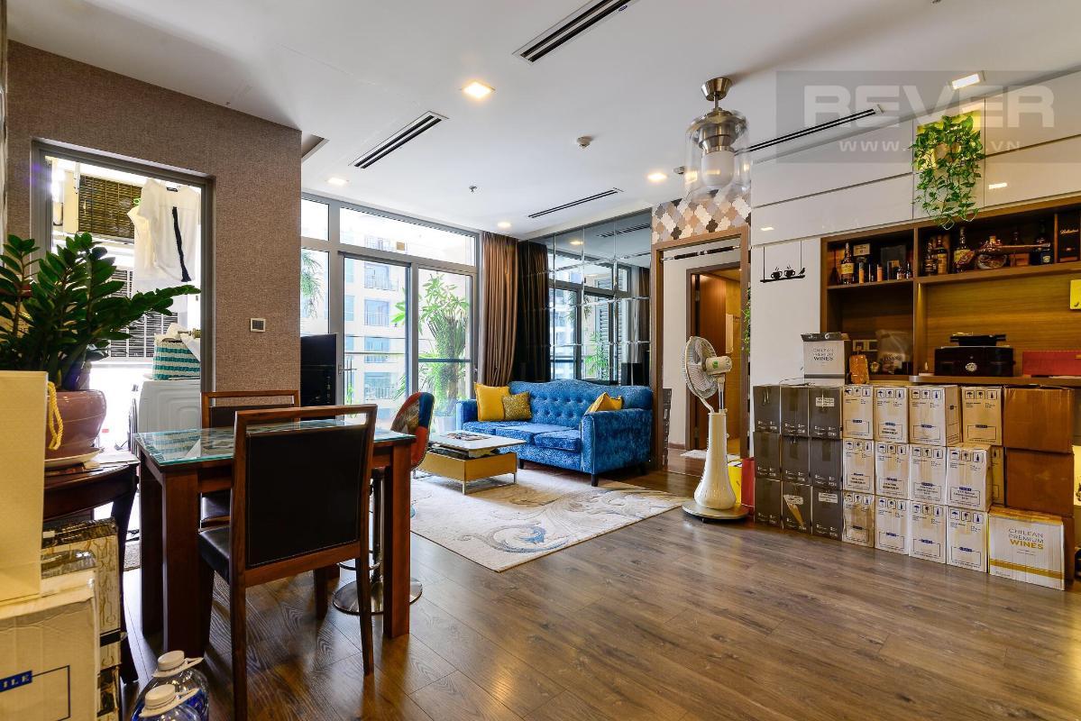 6064f0808120677e3e31 Cho thuê căn hộ Vinhomes Central Park 2PN, tháp Park 1, đầy đủ nội thất, view mé sông