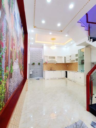 Phòng bếp nhà phố Hiệp Bình Chánh, Thủ Đức Nhà phố mặt tiền hướng Nam diện tích 60m2, gần chợ Hiệp Bình.