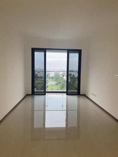 Phòng khách căn hộ One Verandah, Quận 2 Căn hộ One Verandah view thành phố mát mẻ, đầy đủ nội thất.
