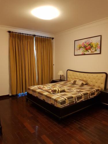 Phòng ngủ căn hộ THE MANOR Bán hoặc cho thuê căn hộ The Manor 3PN, diện tích 136m2, đầy đủ nội thất, căn góc, view thành phố