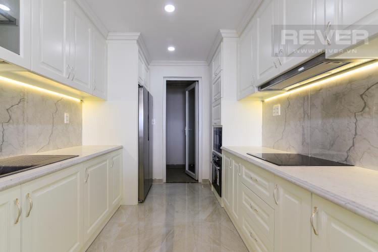 Nhà Bếp Cho thuê căn hộ tầng cao Léman Luxury Apartments, 2PN, đầy đủ nội thất