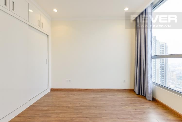 Phòng ngủ 3 Căn hộ Vinhomes Central Park tầng cao L1, 3 phòng ngủ nội thất cơ bản