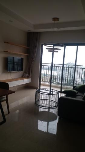 Cho thuê căn hộ tầng cao view sông, nội thất cơ bản The Sun Avenue