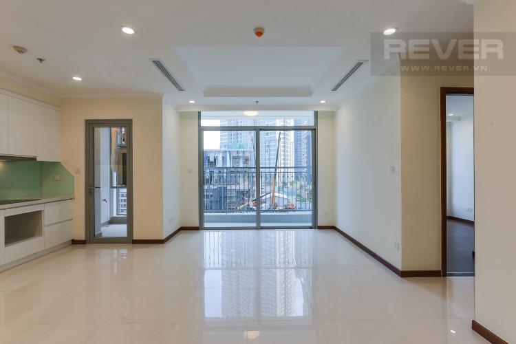 Phòng Khách Căn hộ Vinhomes Central Park 3 phòng ngủ tầng thấp L5 view hồ bơi