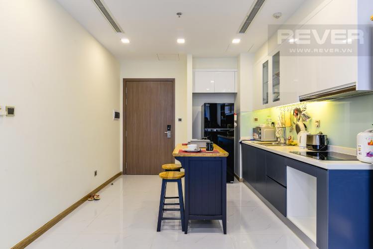 Nhà Bếp Officetel 1 phòng ngủ căn hộ Vinhomes Central Park, tầng thấp, full nội thất