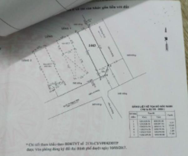 Bản vẽ nhà phố Thạnh Xuân, Quận 12 Nhà phố căn góc hẻm 4.5m xe hơi ra vào, gần chợ Minh Phát.