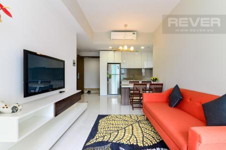 Cho thuê căn hộ Masteri An Phú 2 phòng ngủ, tầng thấp, tháp B, diện tích 70m2, đầy đủ nội thất